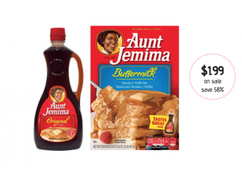 Get Aunt Jemima Pancake Mix and Syrup for Just $1.99 at Safeway