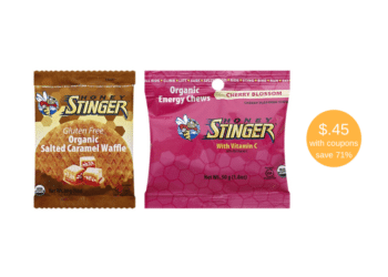 New Honey Stinger Coupons and Sale, Save 71%  Organic Energy Chews, Organic Waffle Honey at Safeway