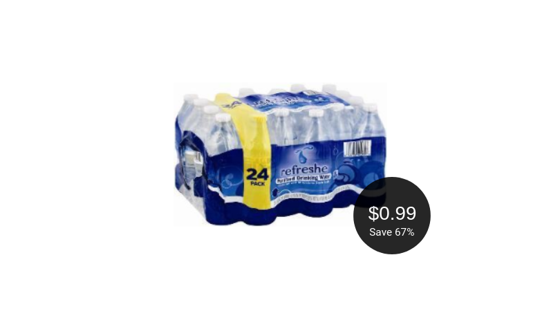 refreshe water coupon