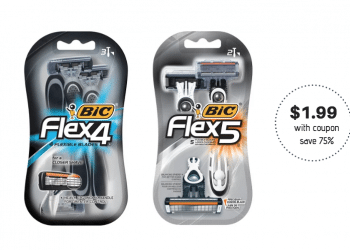 New $4.00 off BIC Flex Razors Coupon, Pay Just $1.99 at Safeway (Reg. $7.99)