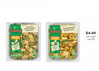 Buitoni Refrigerated Pasta Family Size Just $4.49 with Cash Back Offer at Safeway (Reg. $7.99)
