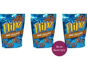 Flipz Coupon = $1.00 for Chocolate Pretzels at Safeway