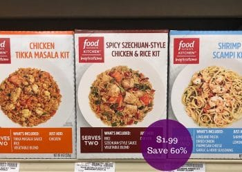 Food Network Kitchen Inspirations Meal Kits for $1.99 at Safeway