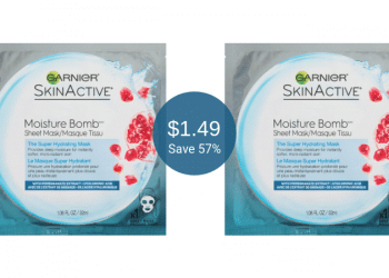 Garnier SkinActive Mask Coupon = Only $1.49 at Safeway