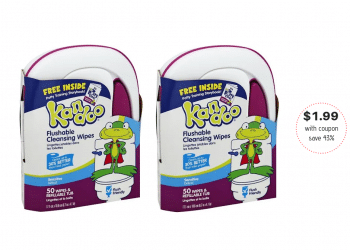 Kandoo Wipes Just $1.99 With Coupon and Sale at Safeway