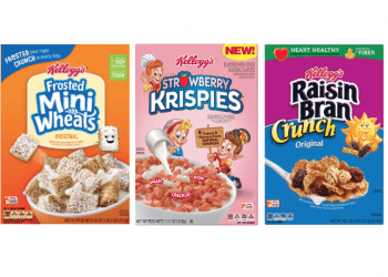 Free Kellogg's Strawberry Krispies and $.49 Frosted Mini Wheats and Raisin Bran Cereal at Safeway