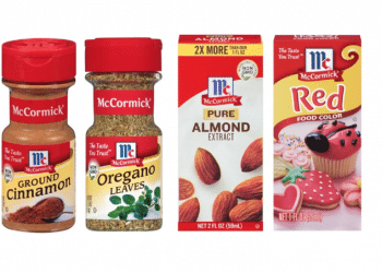 New McCormick Coupons and 25% off Sale, Save up to 40% on Spices, Extracts and Food Coloring at Safeway