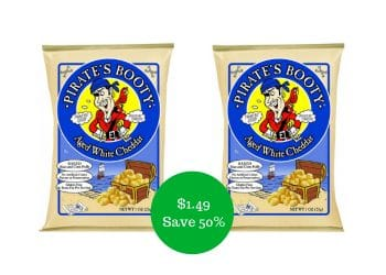 Pirate's Booty Puffs for $1.49 at Safeway | All Natural Snack