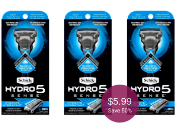 Schick Hydro5 Coupon & Sale = $5.99 for a Razor at Safeway (Save 50%)