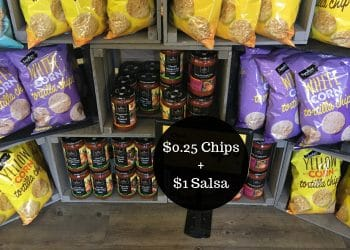 Signature SELECT Tortilla Chips $0.25 + Salsa $1.00 at Safeway = Perfect for March Madness