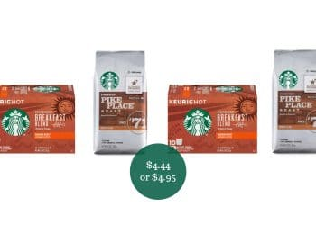 Starbucks Coffee Bags or K-Cups Deal = as Low as $4.44 at Safeway