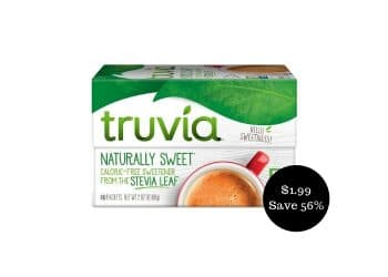 $1.99 for Truvia at Safeway (Save 56%)