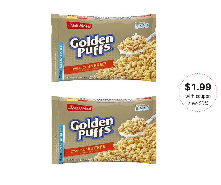 Malt O Meal Cereal $1.99 At Safeway