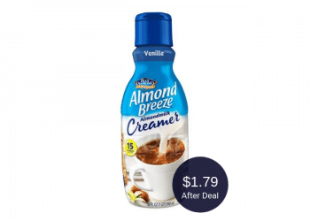 Almond Breeze Creamer Coupon – $1.79 at Safeway | Dairy Free & Plant Based