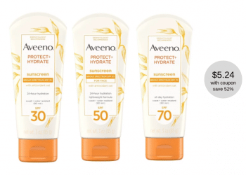 3.00 off Aveeno Sunscreen Coupon and Sale at Safeway – Save 52%   Plus $20 in Aveeno Coupons