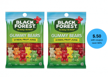 Black Forest Gummy Bears 4.5 oz for as Low as $0.50 at Safeway