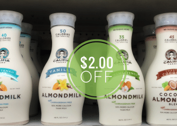 HOT! New $2.00 off Califia Farms Almond Milk Coupon – Pay Just $1.99 at Safeway