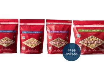 Diamond of California Coupons = $2.99 for Almonds & $3.99 for Pecans or Walnuts at Safeway