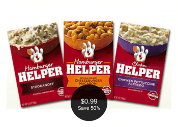 Betty Crocker Helper Meals are on Sale at Safeway, Pay $0.99 (Save 50%)