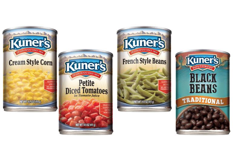 Kuner's Canned Vegetables