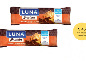 New LUNA Bar Coupon and Sale at Safeway, Pay Just $.45 Each, Save 65%