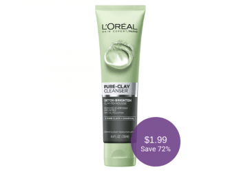 NEW L'Oreal Paris Pure-Clay Cleanser for $1.99 at Safeway (Save 72%)