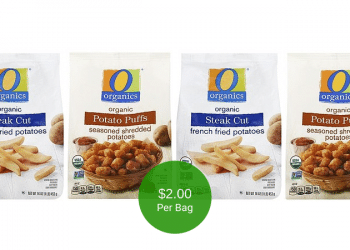 O Organics Frozen Potatoes are on Sale at Safeway for $2.00 Per Bag