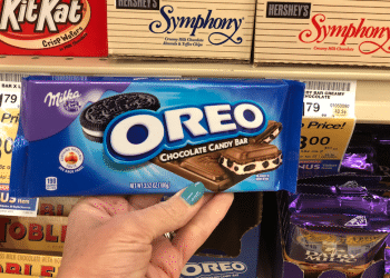 OREO Chocolate Candy Bars 3.52 oz Just $.25 Each With Coupon at Safeway (Reg. $2.19)