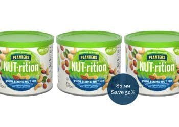 Planters NUT-rition Wholesome Nut Mix for $3.99 at Safeway (Save 50%)
