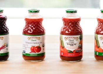 Get R.W. Knudsen Organic Tomato Juice or Very Veggie Juice for Just $1.99 With  Coupon at Safeway, Save 50%