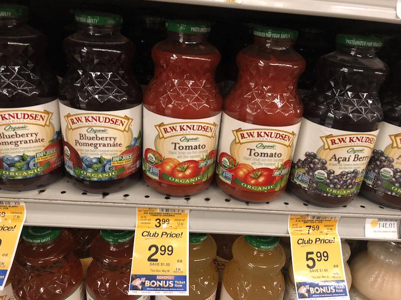 R.W. Knudsen_organic_Juice