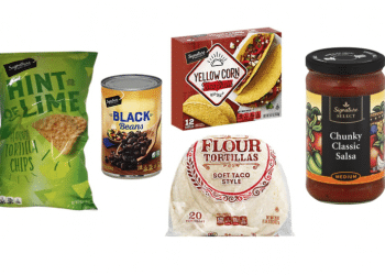 Hot Deals on Signature SELECT Tortillas, Salsa, Beans, Taco Shells and Chips at Safeway Everything Under $1