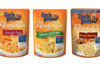 New Uncle Ben's Ready Rice Coupon and Sale, Pay Just $1.24 Each at Safeway