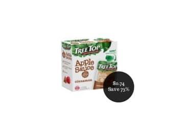 Tree Top Apple Sauce Coupon Deal = as Low as $0.74 at Safeway