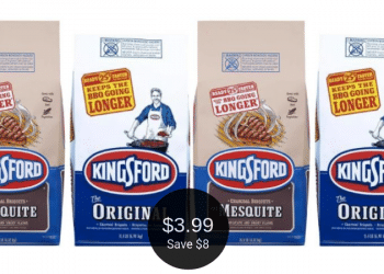 HIGH VALUE Kingsford Charcoal Coupon = $3.99 at Safeway