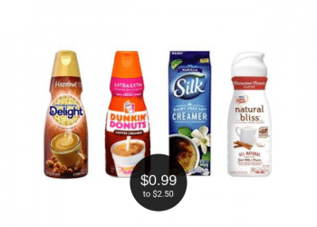 Coffee Creamer Deals at Safeway = as Low as $0.99