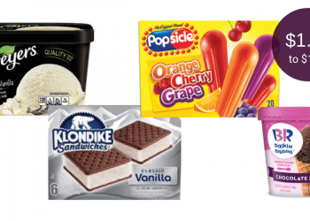 HOT Frozen Treats Coupon This Weekend at Safeway = Breyers $1.49 or Baskin Robbins, Klondike, & Popsicle $1.99