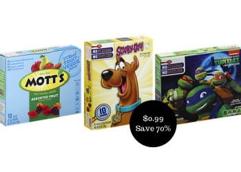 Kellogg's Fruit Snacks Coupon & Sale, Only $0.99 at Safeway