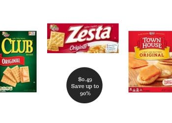HOT Keebler Zesta, Club, & Town House Crackers as Low as $0.49 at Safeway