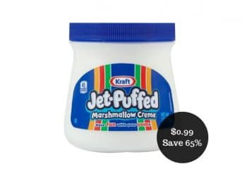 Kraft Jet Puffed Marshmallow Creme for $0.99 at Safeway