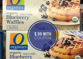 New O Organics Waffles Coupon and Sale, Pay Just $.99 for Organic Waffles at Safeway