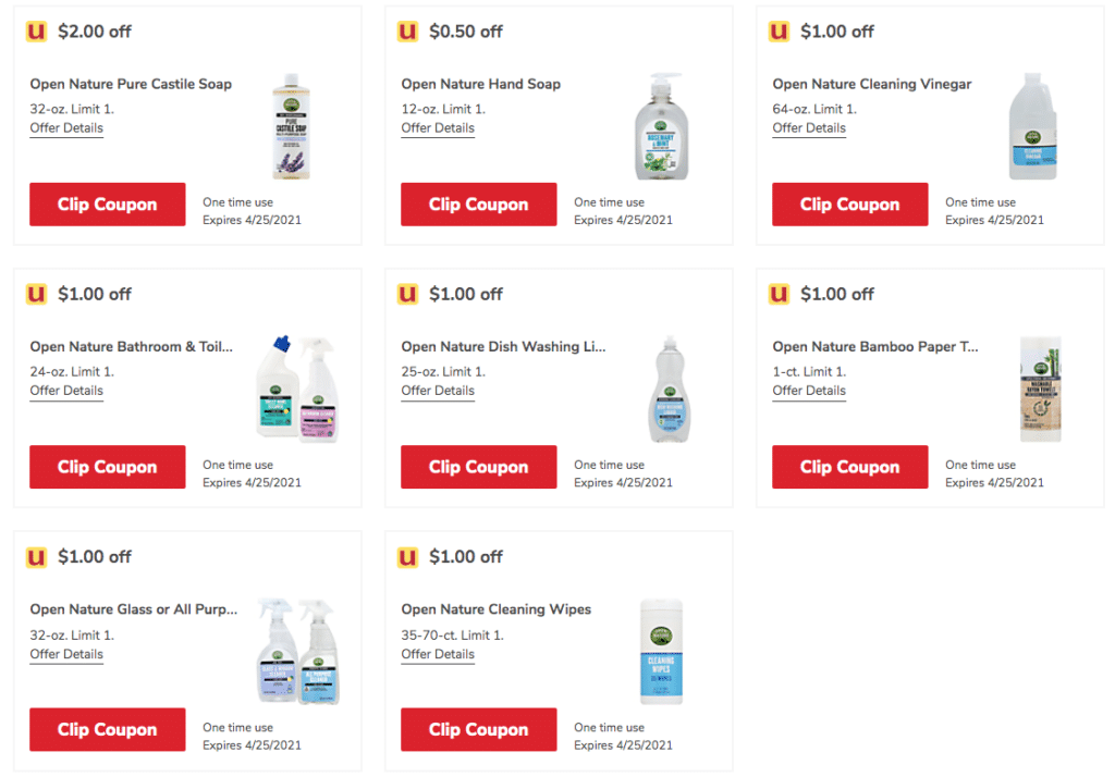 open_nature_CLeaning_Coupons