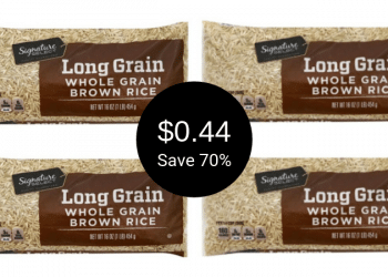 Signature SELECT or Signature Kitchens Rice Sale = Pay as Low as $0.44 at Safeway | 16 Oz. Bag