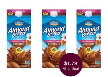 Almond Breeze Chocolate Almondmilk for as Low as $1.79 at Safeway