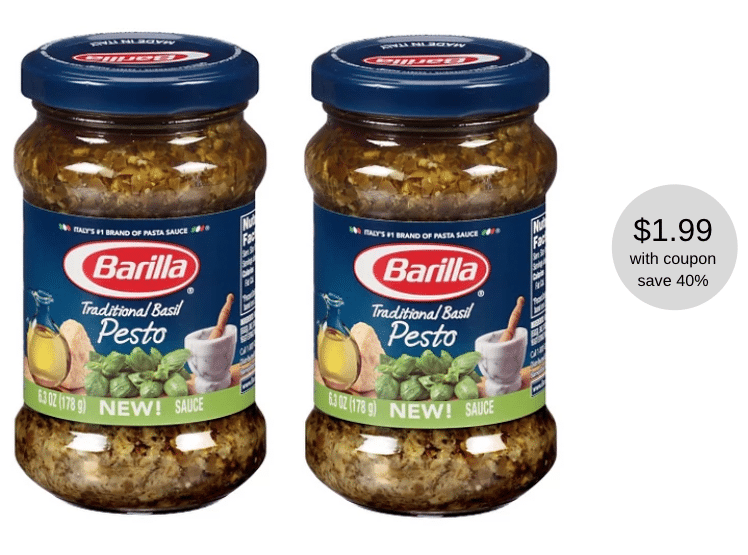 Barilla Pesto Sauce Just 1 99 At Safeway Super Safeway