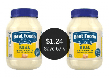 Best Foods Mayonnaise for as Low as $1.24 at Safeway