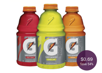 Gatorade Thirst Quencher Drinks on Sale at Safeway, Only $0.69 Each