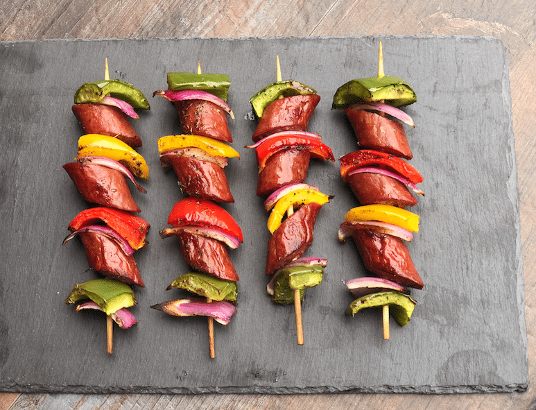 Grilled_Sausage_and_Pepper_Skewers