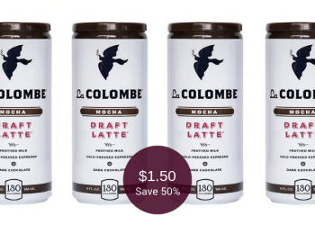 La Colombe Coupon Deal, Pay as Low as $1.50 for Coffee at Safeway   Save up to 50%