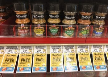 McCormick Grill Mates Seasoning Shakers: Buy 1, Get 1 FREE at Safeway | Pay $2.00 Each